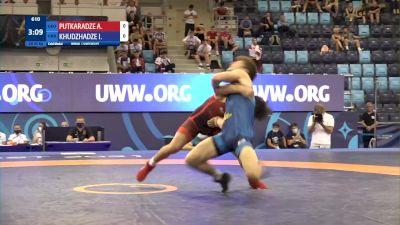 65 kg Final 1-2 - Anri Putkaradze, Georgia vs Imed Khudzhadze, Ukraine