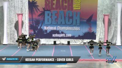 Keegan Performance - Cover Girls [2021 L4.2 Senior] 2021 Reach the Beach Daytona National
