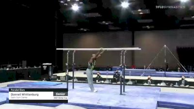Donnell Whittenburg - Parallel Bars, Salto Gym Center - 2021 Winter Cup & Elite Team Cup