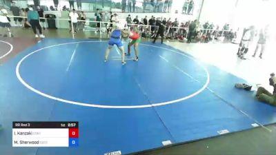184 lbs Rr Rnd 3 - Ivan Kanzaki, Contact! vs Micheal Sherwood, Escondido Center For Martial Arts's