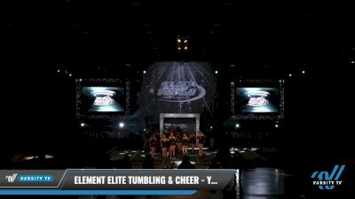 Element Elite Tumbling & Cheer - Youth Cobalt [2021 L3 Youth - D2 Day 2] 2021 The U.S. Finals: Louisville