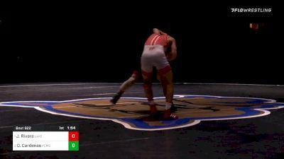 138 lbs Final - Justin Rivera, Lake Highland Prep (FL) vs Daniel Cardenas, Pomona (CO)