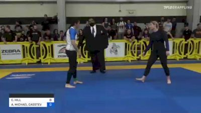 CRYSTAL HILL vs ANNE MICHAEL CASSTEVENS 2021 Pan IBJJF Jiu-Jitsu No-Gi Championship