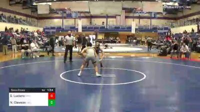 113 lbs Semifinal - Gio Luciano, Hempfield vs Noah Clawson, Carlisle