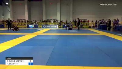 CLAIRE ELAINE NORTH vs HANNAH SHARP 2021 American National IBJJF Jiu-Jitsu Championship