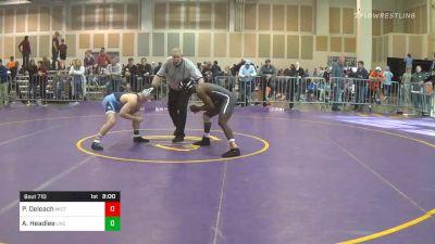 Semifinal - Phyllip Deloach, Missouri vs AC Headlee, North Carolina
