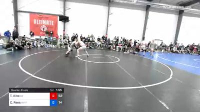 83 kg Quarterfinal - Trey Kibe, M2 Magicians vs Cole Rees, Wyoming Valley RTC Blue