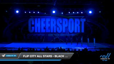 Flip City All Stars - Black Out [2020 Senior XSmall Coed 6 Division B Day 1] 2020 CHEERSPORT National Cheerleading Championship