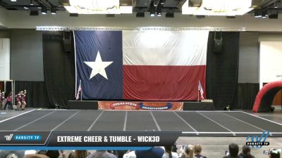 Extreme Cheer & Tumble - Wick3d [2021 L3 Junior - D2 - A Day 1] 2021 ACP Power Dance Nationals & TX State Championship