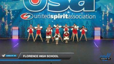 Florence High School [2020 Large Varsity Song/Pom Novice (12-23) Day 3] 2020 USA Spirit Nationals