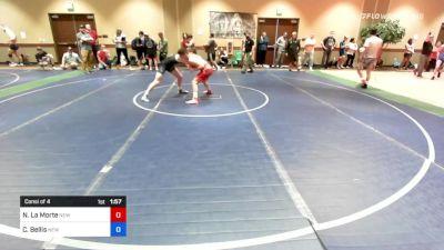 132 kg Consi Of 4 - Nicholas La Morte, New York vs Caden Bellis, New York