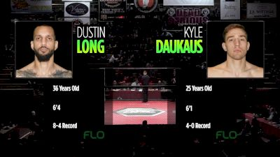 Kyle Daukaus vs. Dustin Long - Ring of Combat 66 Replay