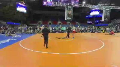 220 lbs Round Of 16 - Ashton Davis, Tennessee vs Gary Powell, Ohio