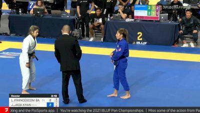 Lavinia Barbosa vs Jessa Khan, Roosterweight Final, 2021 IBJJF Pan Championship