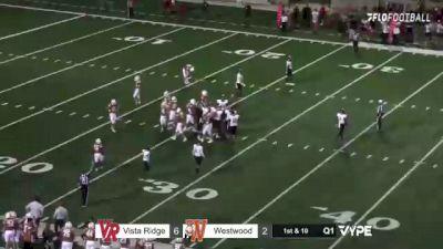 Replay: Vista Ridge vs Westwood | Oct 15 @ 7 PM
