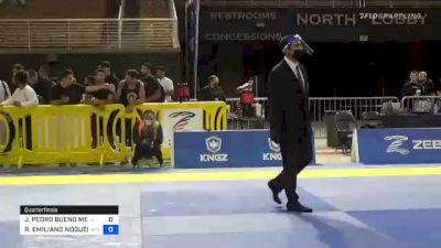 JOÃO PEDRO BUENO MENDES vs RICHAR EMILIANO NOGUEIRA 2020 Pan Jiu-Jitsu IBJJF Championship
