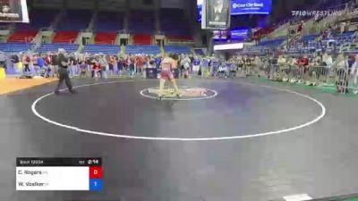 195 lbs Semifinal - Caden Rogers, Pennsylvania vs Wyatt Voelker, Iowa