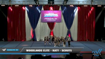 Woodlands Elite - Katy - Scouts [2021 L1 Exhibition (Cheer) Day 2] 2021 The American Spectacular DI & DII