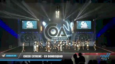 Cheer Extreme - C4 BombSquad [2021 L4 Senior Coed - Medium Day 2] 2021 COA: Midwest National Championship