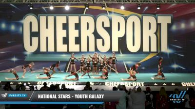 National Stars - Youth Galaxy [2021 L1 Youth - D2 Day 1] 2021 CHEERSPORT: Charlotte Grand Championship