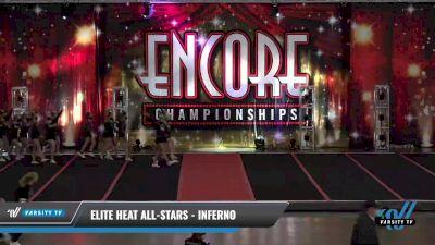 Elite Heat All-Stars - Inferno [2021 L3.2 Junior - PREP Day 1] 2021 Encore Championships: Pittsburgh Area DI & DII
