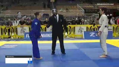 AMANDA JEAN KIRKMAN vs SARAH HELEN LEBEAU 2020 World Master IBJJF Jiu-Jitsu Championship