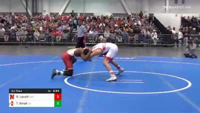 133 lbs 3rd Place - Ridge Lovett, Nebraska vs Todd Small, Iowa State