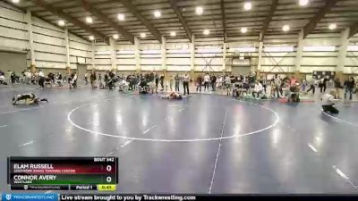 82 lbs Cons. Round 2 - Elam Russell, Southern Idaho Training Center vs Connor Avery, Westlake