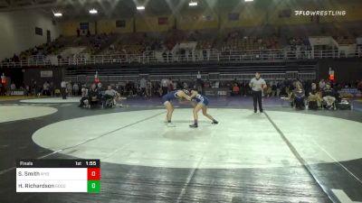 130 lbs Final - Sophia Smith, Wyoming Seminary - Girls vs Heidi Richardson, Good Counsel - Girls