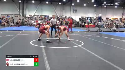 174 lbs Prelims - Joe Accousti, Sacred Heart vs Anthony Mantanona, Oklahoma