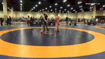 77 kg Quarterfinal - Eddie Smith, Dubuque Wrestling Club vs Tyler Dow, Wisconsin Regional Training Center