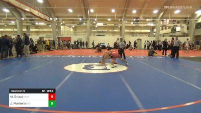 Prelims - Matt Grippi, NC State vs Jacob Mariakis, UTC-unattached
