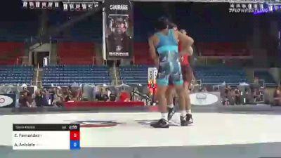 132 lbs Semifinal - Ethan Fernandez, New Jersey vs Anthony Aniciete, Nevada
