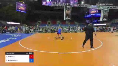 152 lbs Quarterfinal - Derek Raike, West Virginia vs Cale Anderson, Wisconsin