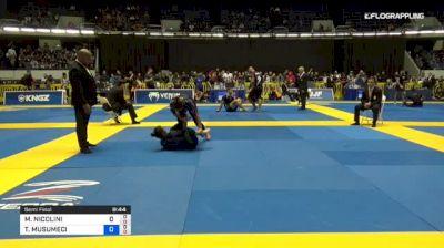 MICHELLE NICOLINI vs TAMMI MUSUMECI 2018 World IBJJF Jiu-Jitsu No-Gi Championship