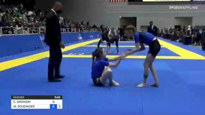 CAMRYN ORANDAY vs MANDY SCHEINDER 2021 World IBJJF Jiu-Jitsu No-Gi Championship