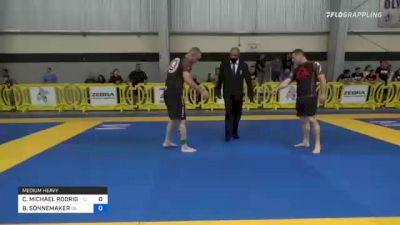 CRAIG MICHAEL RODRIGUE vs BILL SONNEMAKER 2021 Pan IBJJF Jiu-Jitsu No-Gi Championship