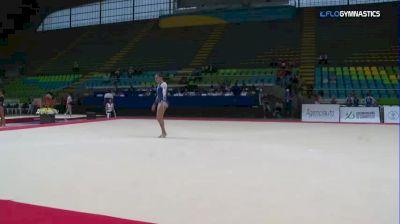 Martina Palamara - Floor, Chile - 2018 Pacific Rim Championships