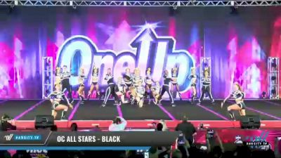 OC All Stars - Black [2021 L6 Senior Coed Open - Small Day 1] 2021 One Up National Championship
