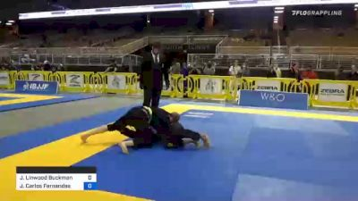 James Linwood Buckman vs João Carlos Fernandes 2020 World Master IBJJF Jiu-Jitsu Championship