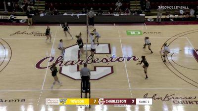 Replay: Towson vs Charleston | Oct 9 @ 1 PM