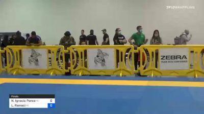 Nicolas Ignacio Ponce vs Luca Ramaci 2020 IBJJF Pan No-Gi Championship