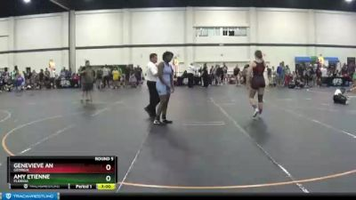 155 lbs Round 5 - Amy Etienne, Florida vs Genevieve An, Georgia