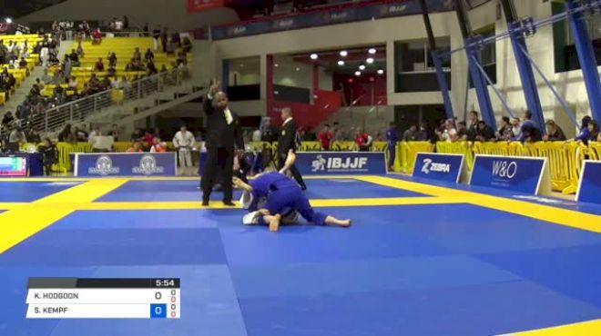 KYLE HODGDON vs SPENCER KEMPF 2018 World IBJJF Jiu-Jitsu Championship