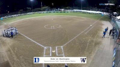 Washington vs. Duke - Puerto Vallarta College Challenge