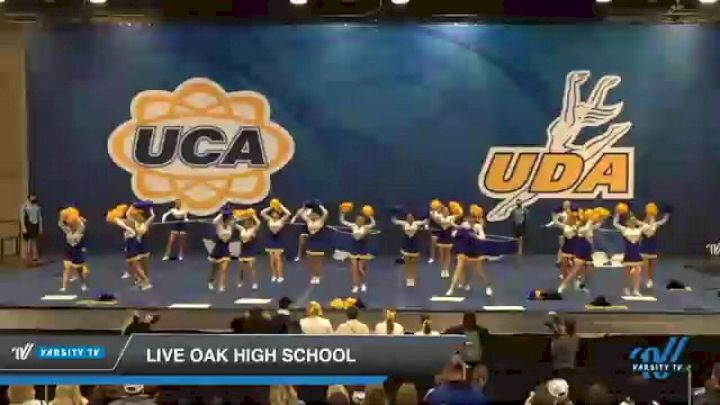 Live Oak High School [2020 Game Day Large/Super Varsity Day 2] 2020 UCA Magnolia Championship