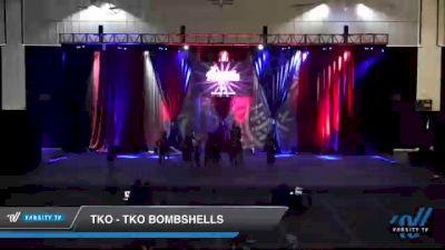 TKO - TKO Bombshells [2021 L3 Senior - D2 - Small Day 2] 2021 The American Royale DI & DII