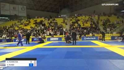 VINICIUS FERREIRA vs VICTOR HONORIO 2019 World Jiu-Jitsu IBJJF Championship