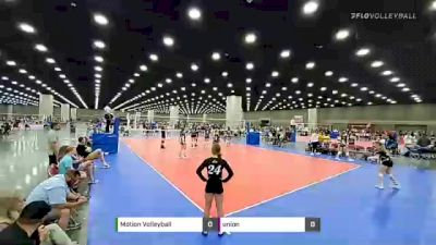 Motion Volleyball vs union - 2021 JVA World Challenge presented by Nike