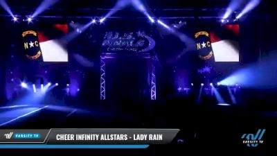 Cheer Infinity Allstars - Lady Rain [2021 L3 Senior Day 1] 2021 The U.S. Finals: Myrtle Beach